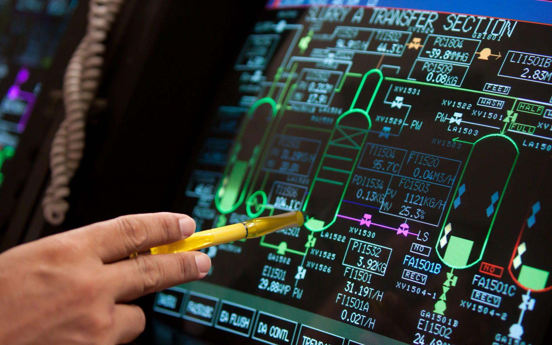 Control Panel in Fabrik